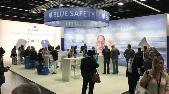 IDS 2017 BLUE SAFETY Messestand