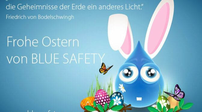 BLUE SAFETY Frohe Ostern