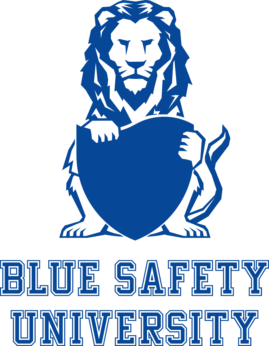 BLUE SAFETY UNIVERSITY Logo