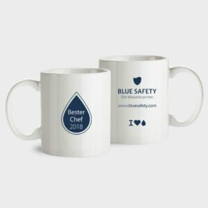 BLUE SAFETY Tasse Bester Chef 2018
