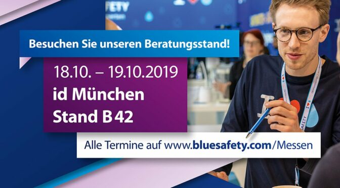 BLUE SAFETY id infotage dental München