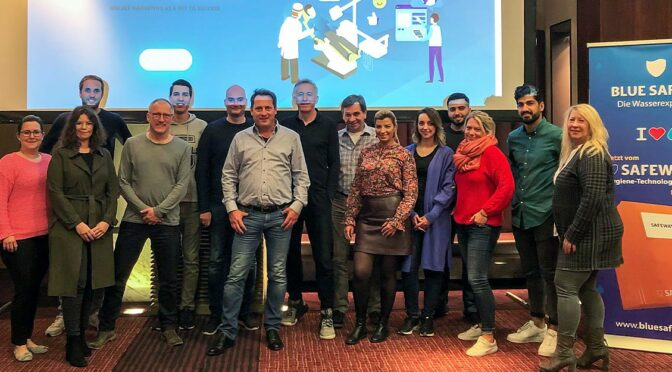 BLUE SAFETY Bedental Marketing Bootcamp Koeln 2019