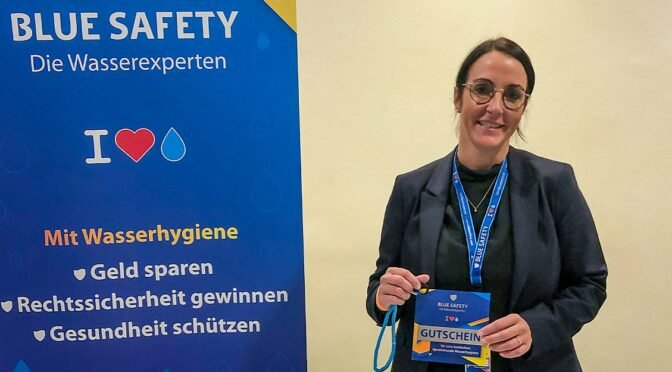 BLUE SAFETY beriet in Düsseldorf beim Ästhetik Kongress